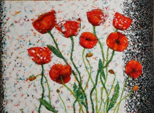 Bursting Forth, oil on canvas, 48 X 36, Kathleen Hall © 2013