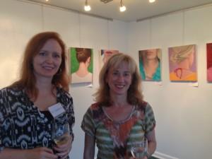 Elizabeth Coffey (l) and Kathleen Hall