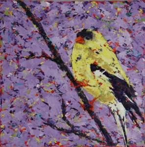 oil on canvas, 10 X 10 (c) Kathleen Hall
