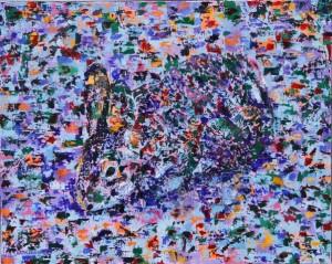 Rabbit, oil on canvas, 20 X 16 (c) Kathleen Hall